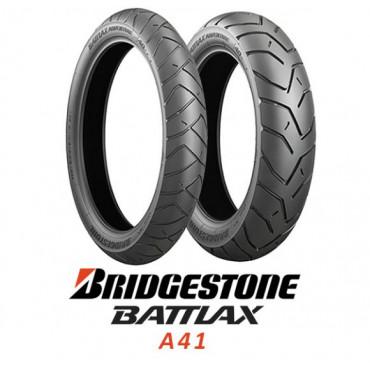 Шина для мотоцикла Bridgestone Battlax A41 170/60 R17 72V TL Задняя (Rear)