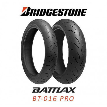 Шина для мотоцикла Bridgestone Battlax BT-016 PRO 120/70 ZR17 58W TL Передняя (Front)