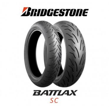 Шина для мотоцикла Bridgestone Battlax SC 120/80 -14 58S TL Передняя (Front)